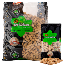 PEANUT IN SHELL ROASTED NO SALT SAN BLAS