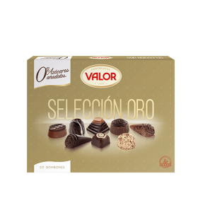 VALUE CHOCOLATE SELECTION GOLD 20 CHOCOLATE 0% SUGAR ADDED