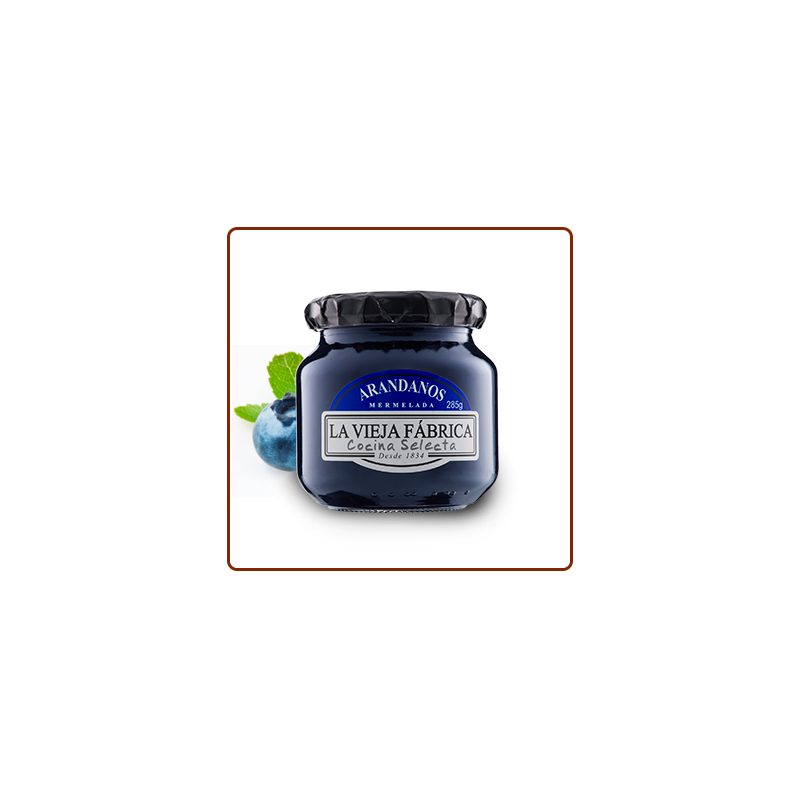 JAM BLUEBERRY 800Grs.