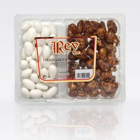 KING TRAY, SUGARED AND caramelized nuts 300Grs.