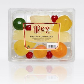 KING TRAY CANDIED FRUIT 400Grs.