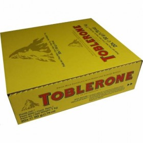 TOBLERONE CHOCOLATE CASE 20X50Grs.