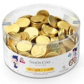 COINS MEDIUM CHOCOLATE SIMON COLL