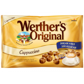 WERTHERS ORIGINAL CAPPUCCINO WITHOUT SUGAR
