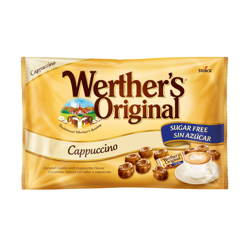 candy hard cappuccino without sugar werthers original storck