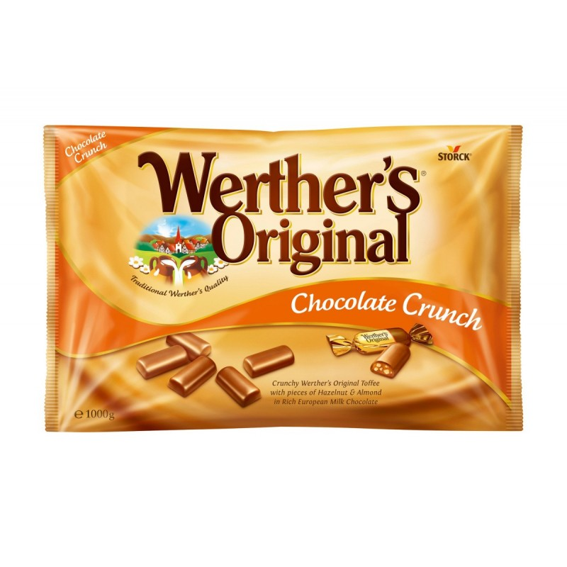 candy hard chocolate crunchy werthers original storck