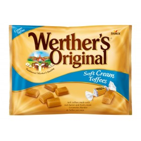 WERTHER´S ORIGINAL SOFT CREAM TOFFEES