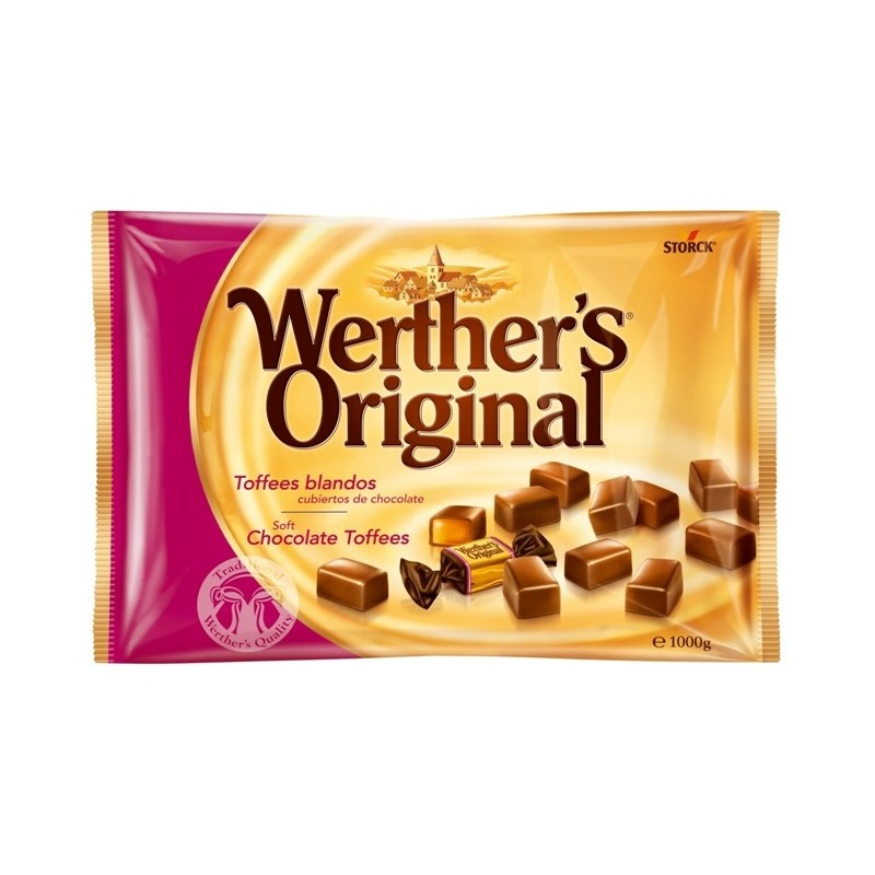 caramel chocolate toffee werthers original storck