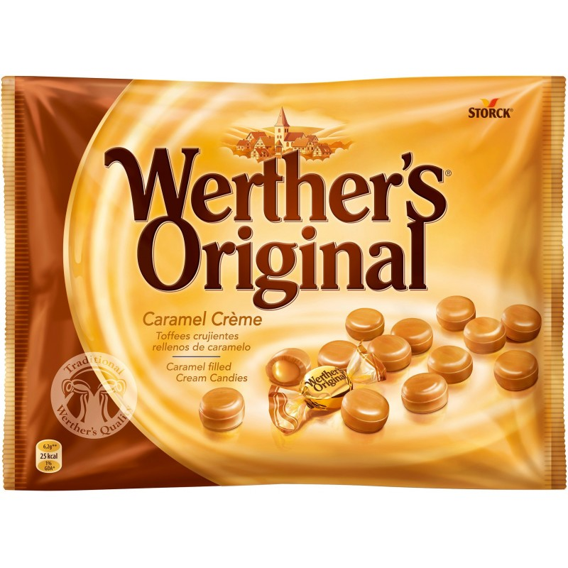 caramel hard toffee milk candy werthers original storck