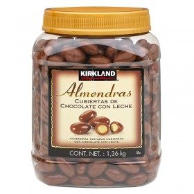 ALMONDS COATED WITH CHOCOLATE KIRKLAND SIGNATURE
