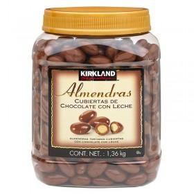ALMONDS COATED WITH CHOCOLATE KIRKLAND SIGNATURE
