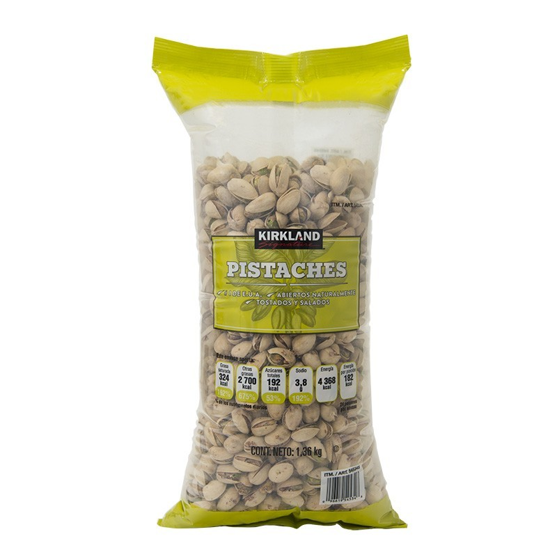 pistachios salted roasted kirkland signature costco