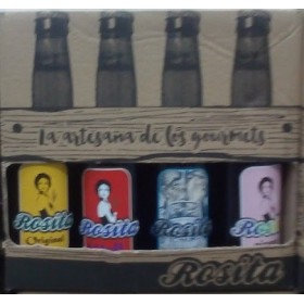 CRAFT BEER ROSITA PACK TASTING 8X33CL
