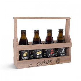 BEER CEREX BASKET WOOD TASTING