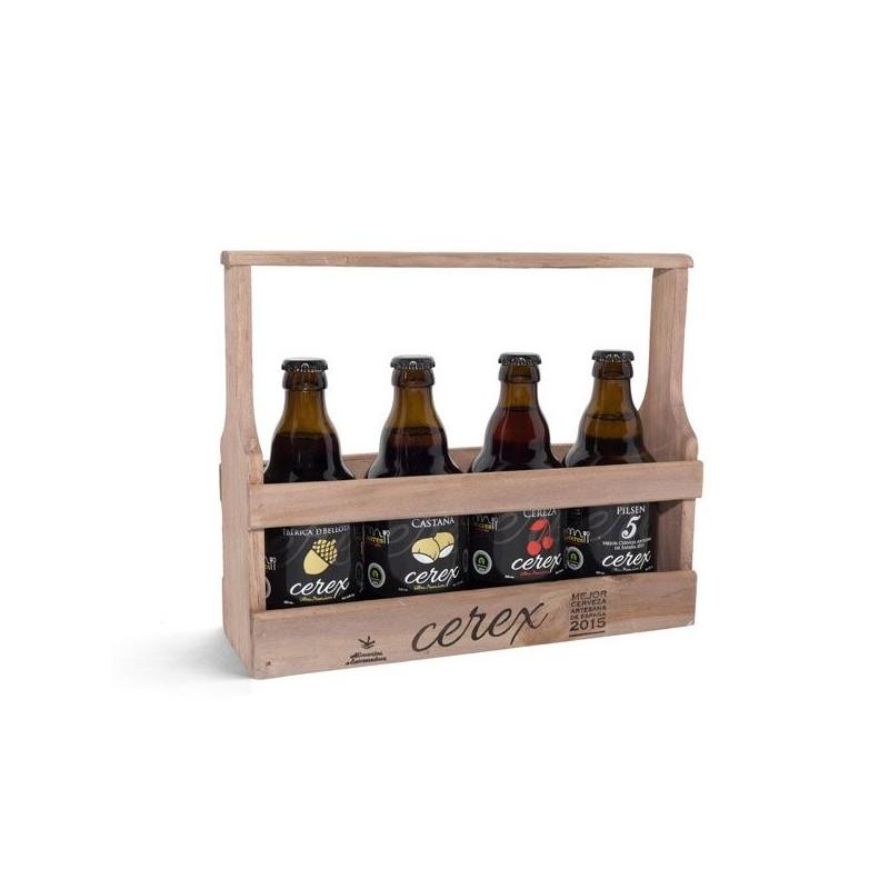 BEER THE SABRA BASKET WOOD TASTING 9 STYLES