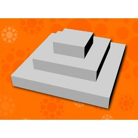 EXPANSO CAKE STEPS SQUARE