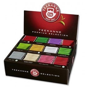 BOX COLLECTION ASSORTMENT OF TEA AND INFUSIONS POMPADOUR