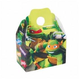 BOX NINJA TURTLES 4Uds