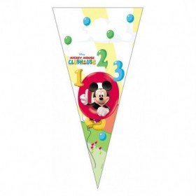 BAG CONE MICKEY MOUSE 10Uds