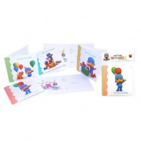INVITATIONS, POCOYO 6Uds