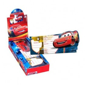 INVITATIONS CARS 6Uds