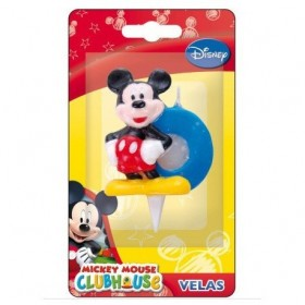 CANDLE MICKEY MOUSE No. 0